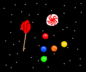Candy has been launched into orbit
