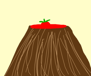 Tomato in a Volcano