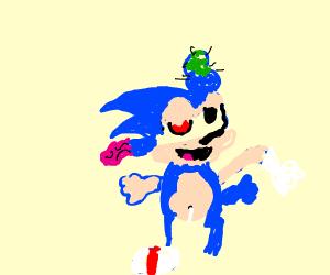 Ukrainian Sonic (the hedgehog)