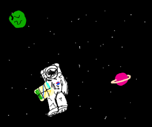 astronauts lost in space