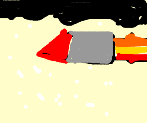 Missile in a Hailstorm
