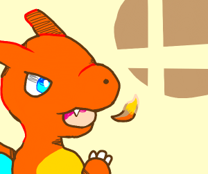 charizard joins the battle [Smash Bros]