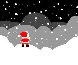 Santa is lost