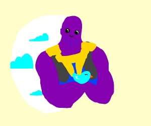 thanos loves blue bird