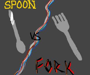 Spoon VS fork
