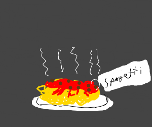"""Spagetti"" confidently labelled as such"