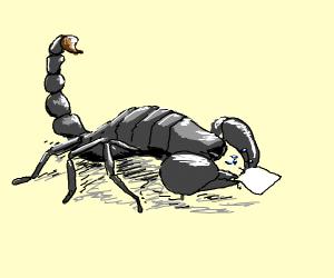 lobster/scorpion sneezing