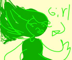 Female, feminine orc