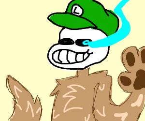 Luigi Sans Furry Hybrid