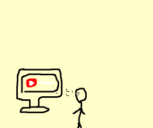 Watching youtube