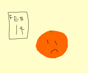 Orange doesn't have a mate  :(