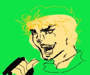 YOU THOUGHT IT WAS A JOJO REF BUT IT WAS DIO