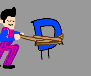 Robbie Rotten claims Drawception