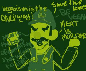 Evil Vegan Luigi