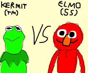 Muppets vs Sesame Street