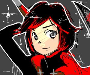 RWBY Ruby Rose