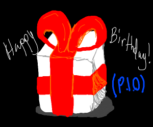 Happy birthday! PIO