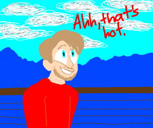 pewdiepie, ahh thats hot, thats hot
