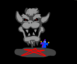 Summoning the ghost of Bowser