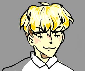 blond haired boy