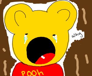 winnie the pooh themed glory hole
