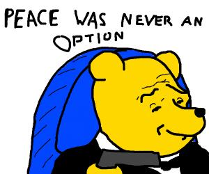 Winnie the Pooh (with a gun)