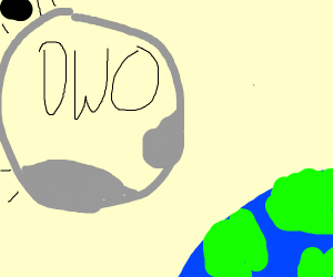 The OWO meteor approaches