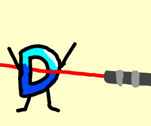 drawception getting shot by lasers