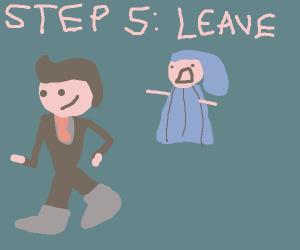 Step 4: The wedding