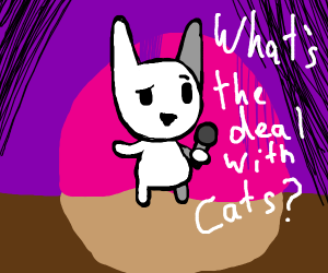 rabbits discuss other animals