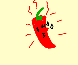 Extremely Spicy red pepper