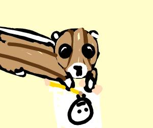 Chipmunk Drawing