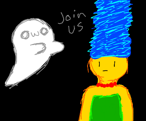 OwO ghosts want you to join them