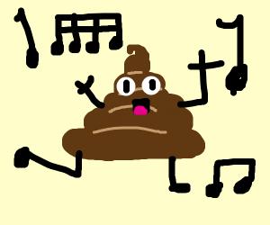 Dancing Poop Emoji