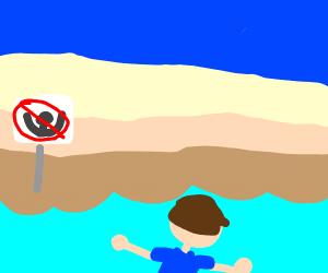 Dead man drowned