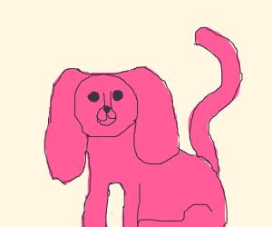 Pink DogLike Creature