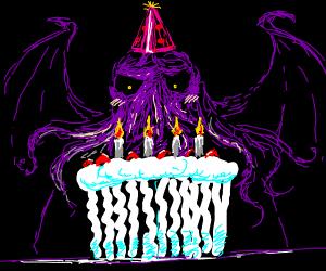 Happy birthday Cthulhu!!