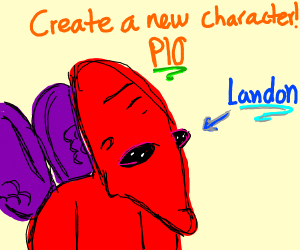 Create A New Character PIO