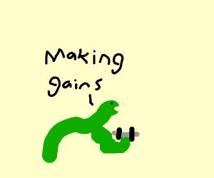 buff eel lifting weights