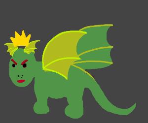 angry king dragon