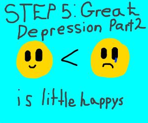 Step 4: Great Depression Part 2 is Big Sads