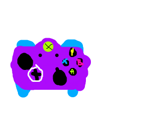 The Purplest Xbox Controller
