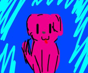 pink doggo