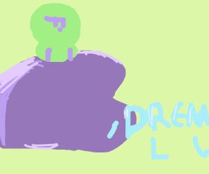 green man stalks his innocent prey: dreams