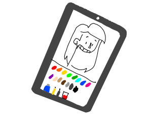 coloring app on phone