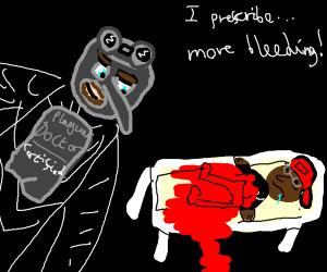 Plague Doctor Manchild prescribesMoreBleeding