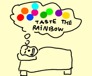 Sans dreams about skittles