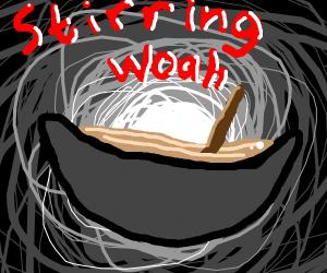 stirring woah