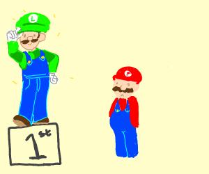 Luigi is so much better then Mario.