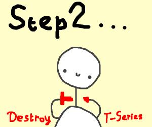 Step 1: Buy T-Series